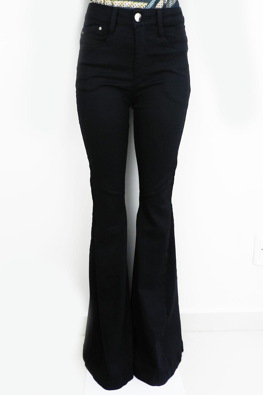 2ce2ba263 Calça Jeans La Rossi Super Flare - Carmim Modas