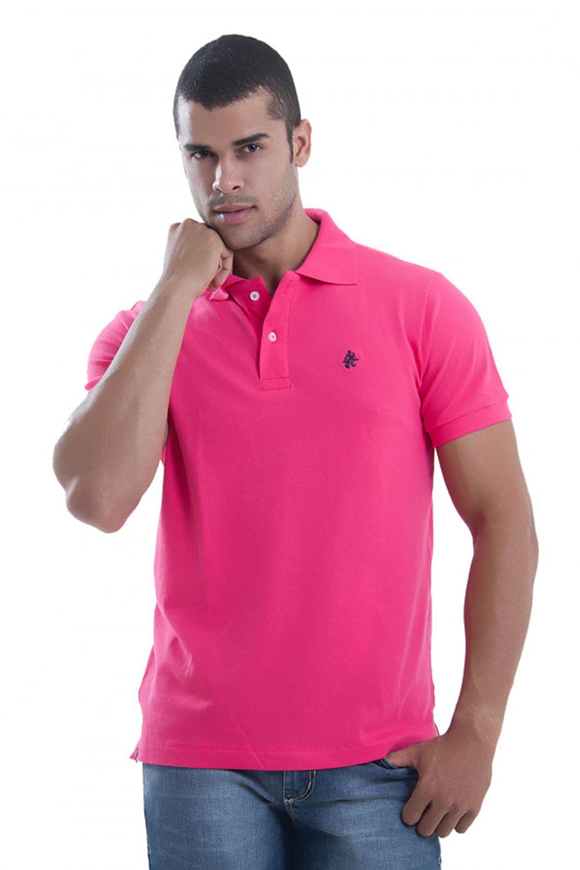 d12b8eb09ba7e Camisa Polo Paco Rosa - Carmim Modas