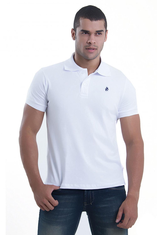 Camisa Polo Paco Branca - Carmim Modas 0c2d04fa4e496