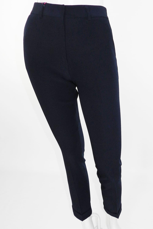 e596d2097a3b3 Calça Social Delucca Skinny Azul - Carmim Modas