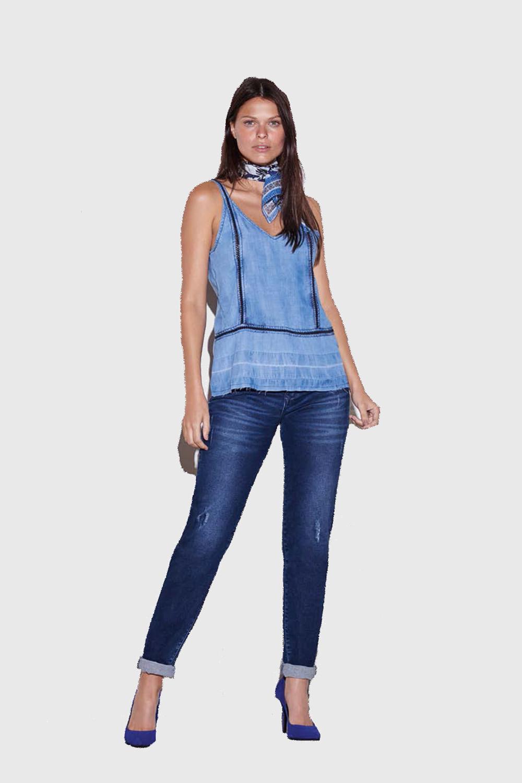 9480c4c2d Regata Presidium Jeans Azul - Carmim Modas