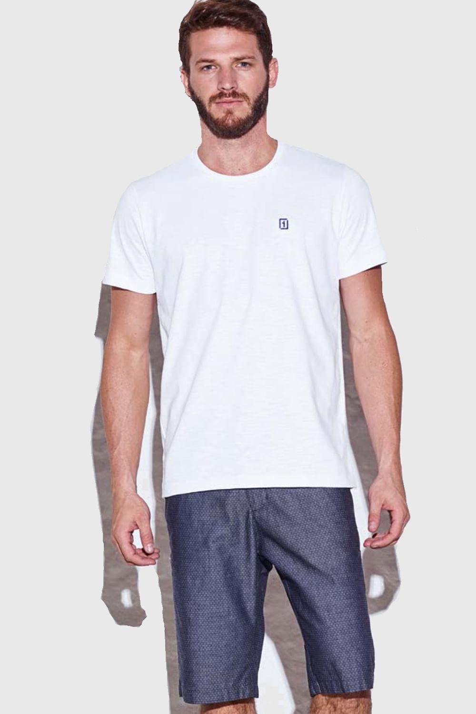 478d71360f Camiseta Presidium Básica Branca - Carmim Modas