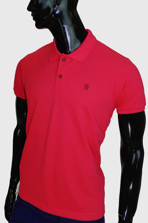 9ba16aaac0 Camisa Polo Presidium Pink - Carmim Modas
