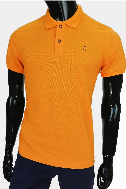 f81dc15e78 Camisa Polo Presidium Mostarda - Carmim Modas