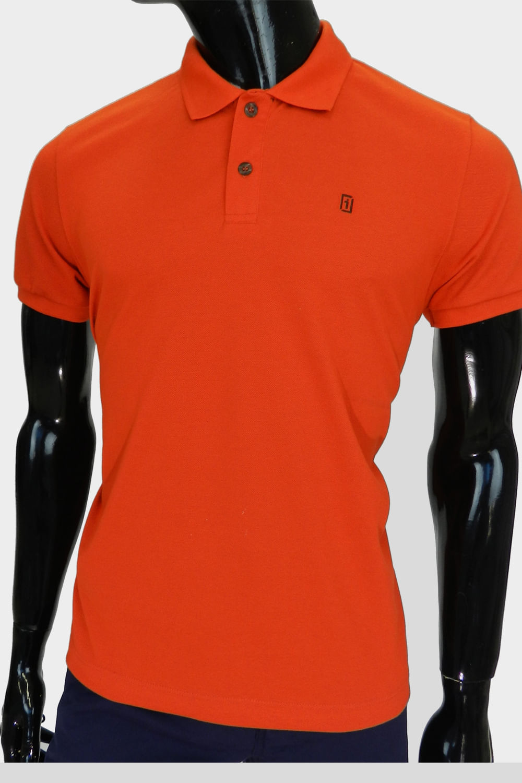 Camisa Polo Presidium Laranja - Carmim Modas 3be6613a9022f