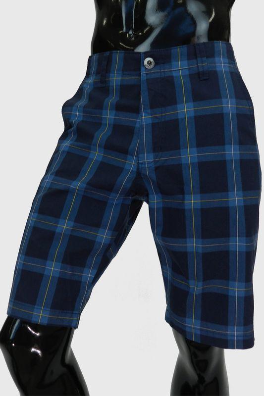 30655fe23 Bermuda Paco Xadrez Azul - Carmim Modas
