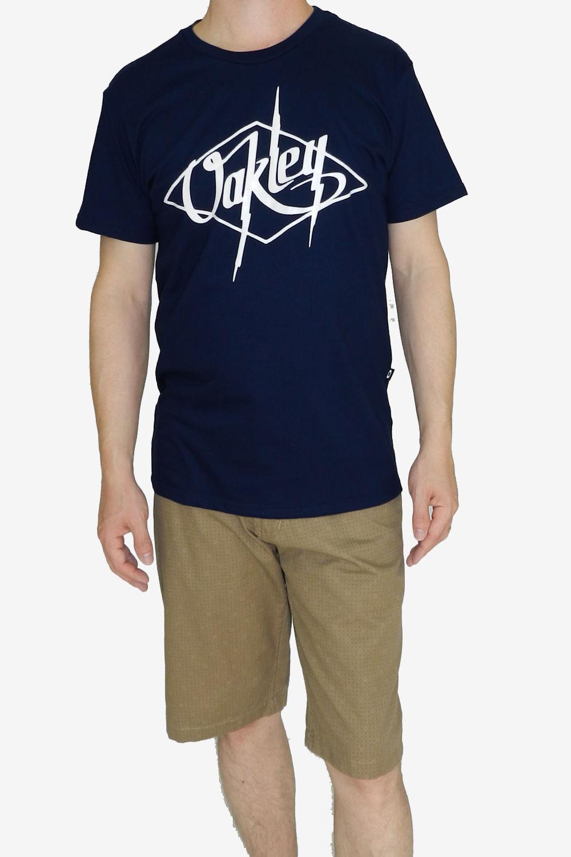 1d589a5f49202 Camiseta Oakley Streamline Azul - Carmim Modas