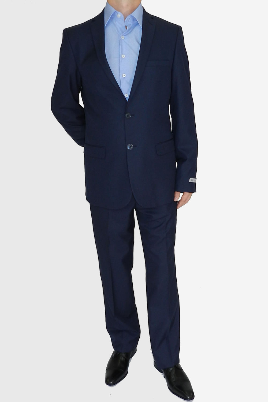 e0c1fd9a68f9c Terno Delucca Slim Azul - Carmim Modas