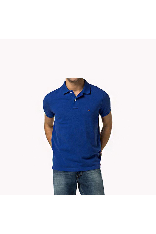 4812f075bd818 Camisa Polo Tommy Custom Fit Amarela - Carmim Modas