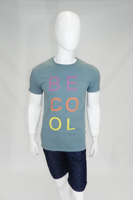 1e15af4f52 Camiseta Calvin Klein Be Cool Cinza - Carmim Modas