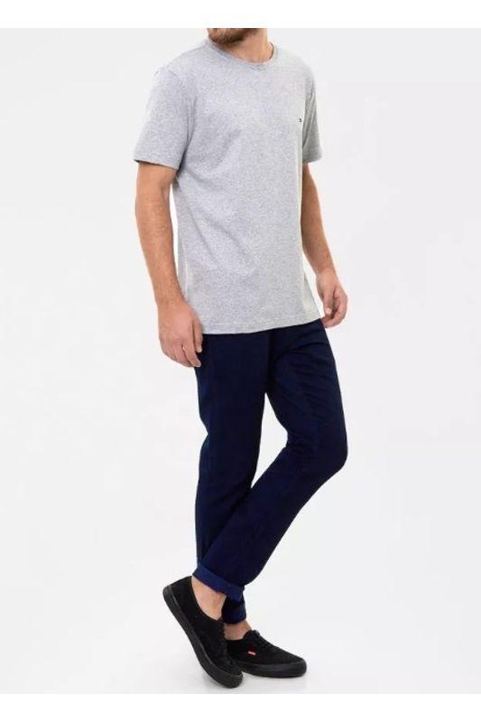 Camiseta Tommy Hilfiger Gola Redonda Cinza - Carmim Modas e31a23c06c907