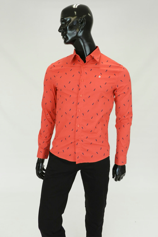 Marte Collar doloroso camisa coral educaccionate.es