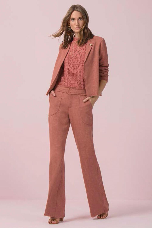 d94d030c9d Blazer Maria Valentina Rose - Carmim Modas