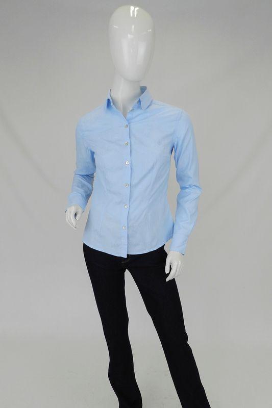 Camisa Forum Justa Azul Claro