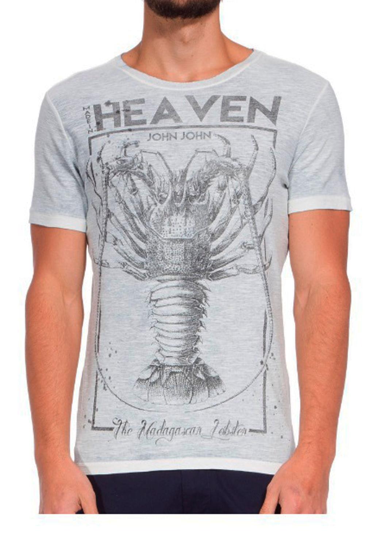 Camiseta John John Rx Lobster Cinza - Carmim Modas 812a1ce7a08ae