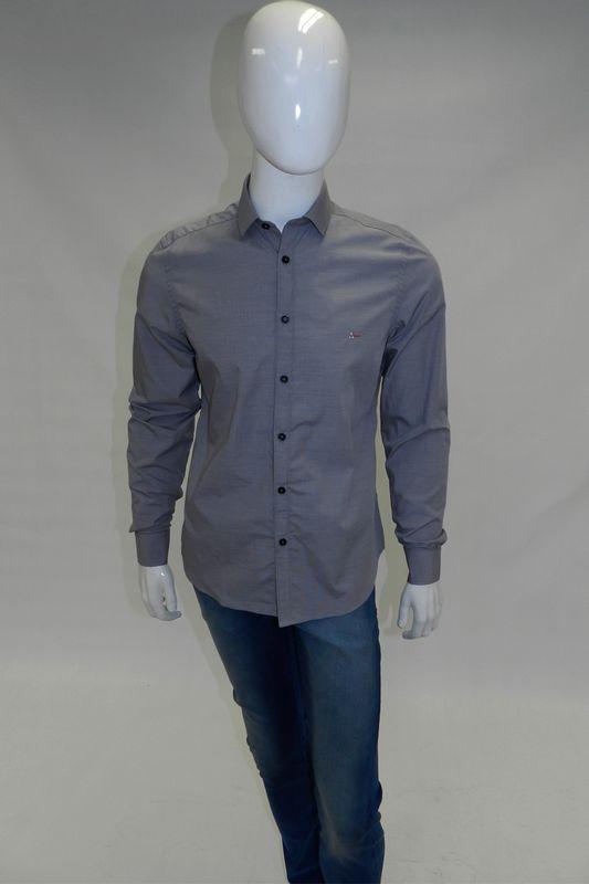 Camisa Aramis Super Slim Menswear Cinza