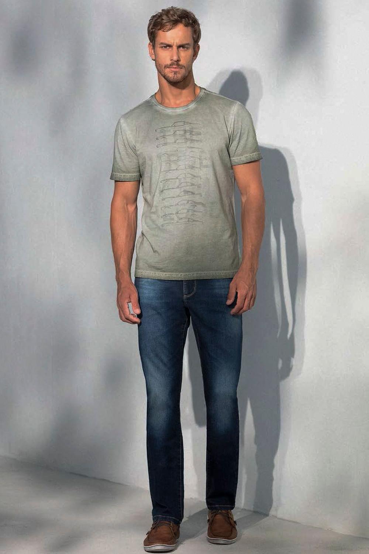 c91d2e083 Calça Jeans Lado Avesso Rodrigo Azul - Carmim Modas
