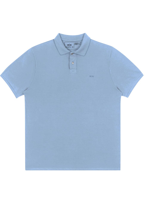 d9f731d2ee Camisa Polo M.Piquet Classico Azul Claro - Carmim Modas