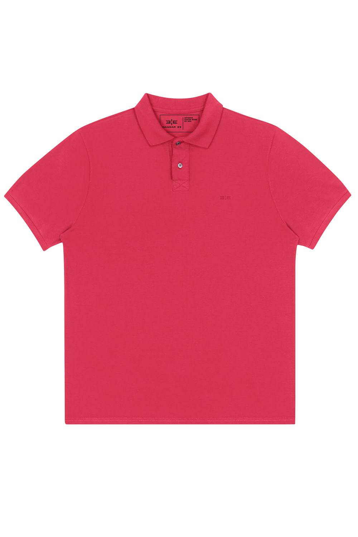 8f30d47d27 Camisa Polo M.Piquet Classico Rosa Pink - Carmim Modas