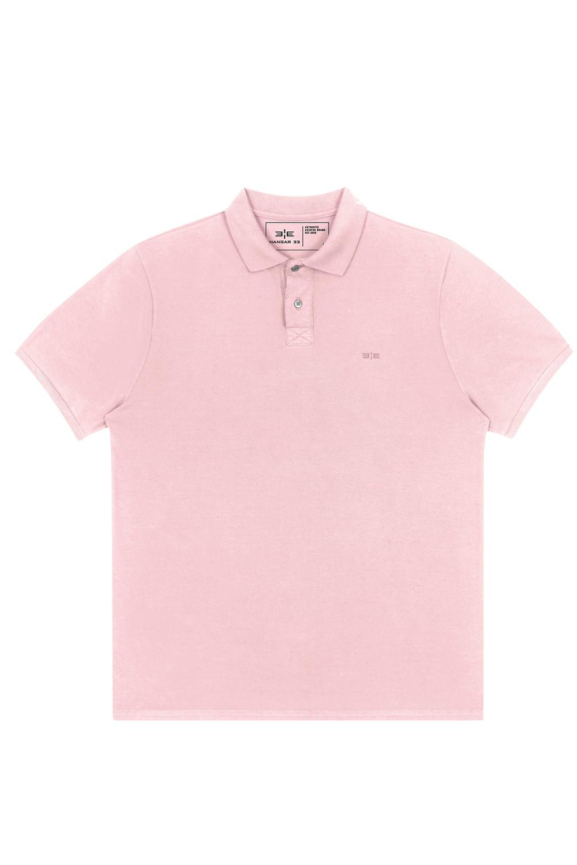 09f2e9817c Camisa Polo M.Piquet Classico Rosa - Carmim Modas