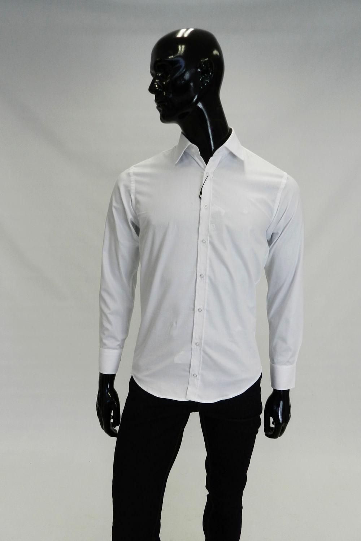 a4f307d35a190 Camisa Slim Delucca Branco - Carmim Modas