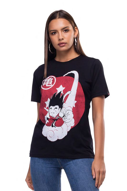 Camiseta Liverpool Estonada Dragon Ball Preto