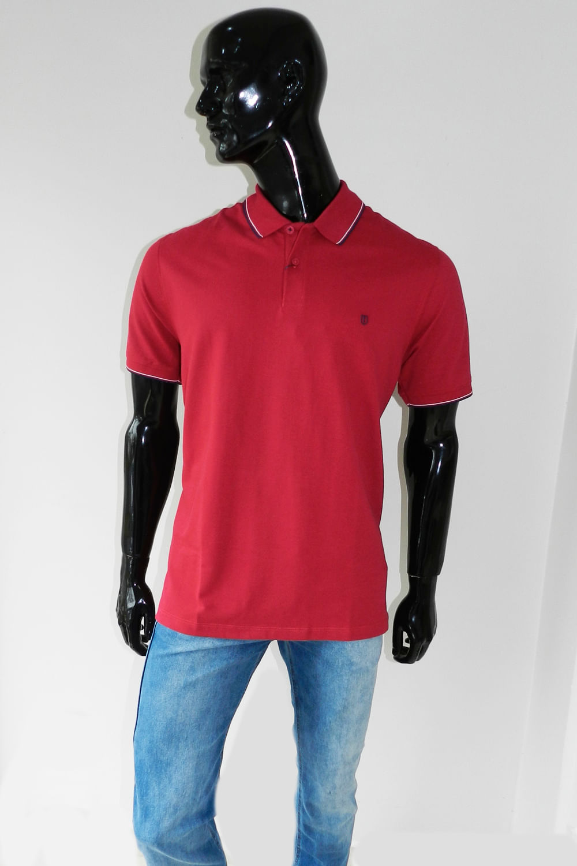 9ed7aa4f1 Camisa Polo Individual Comfort Vermelho - Carmim Modas