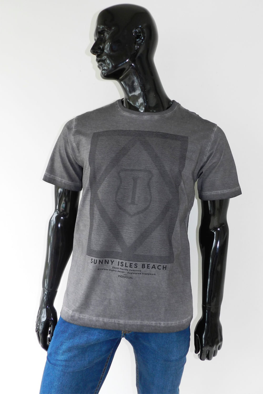 Camiseta Individual Comfort Beach Cinza - Carmim Modas c11effdfdf821