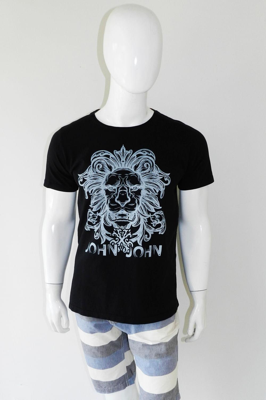 22244757db Camiseta John John Preto - Carmim Modas