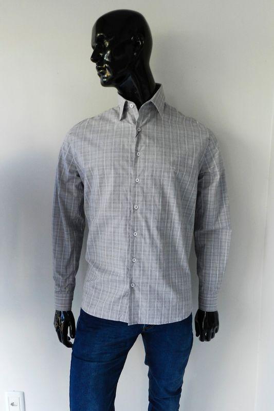 Camisa Individual Comfort Fit Cinza