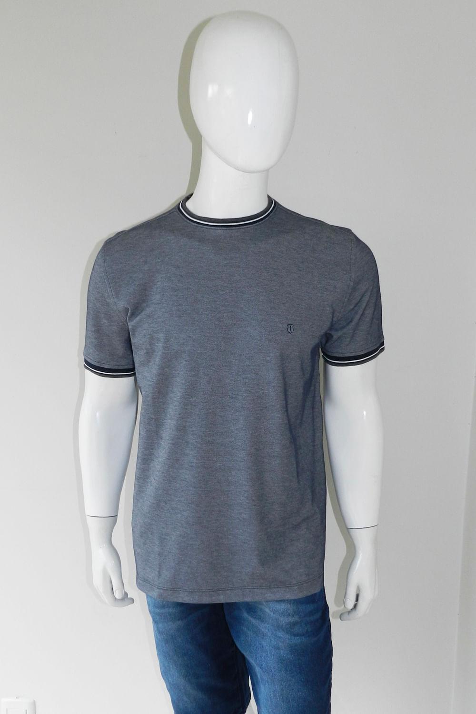 Camiseta Individual Slim Pima Cinza - Carmim Modas fec887f5790c4