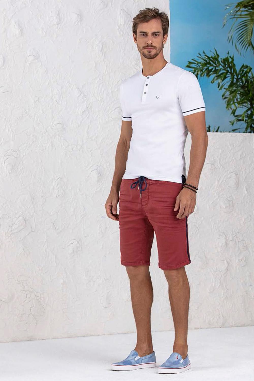 31e82628b2 Camiseta Lado Avesso Branco - Carmim Modas