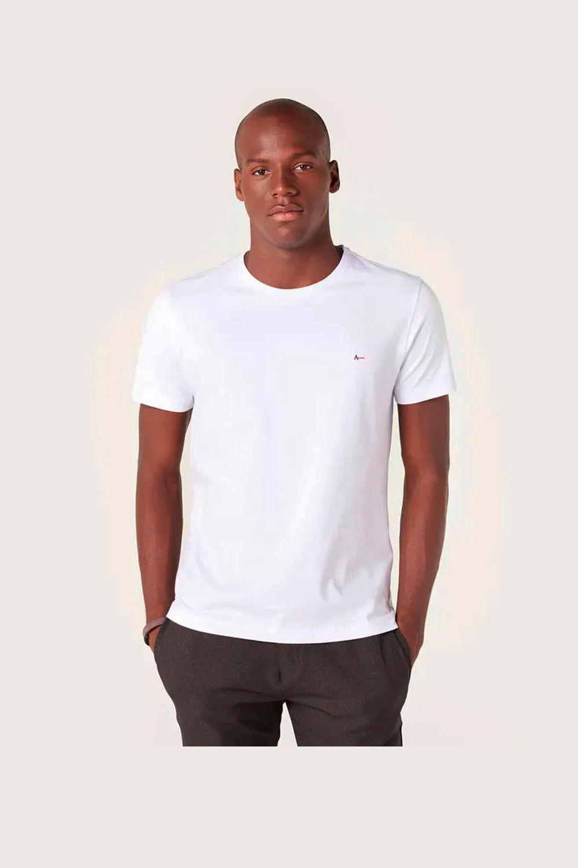 Camiseta Aramis Basica Branco - Carmim Modas b57d2725e7289