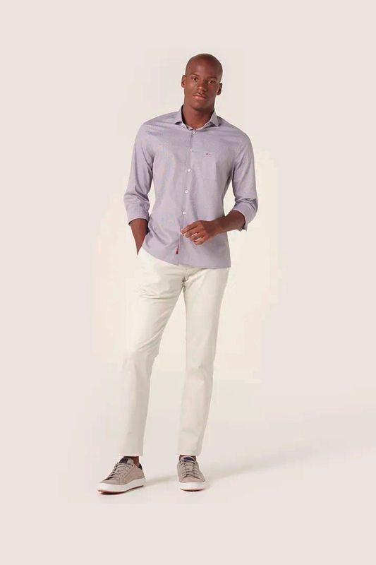 Camisa Aramis Menswear Micro Xadrez Azul