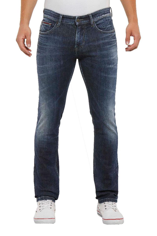 e0e751922 Calça Jeans Tommy Hilfiger Slim Fit Scanton Azul - Carmim Modas