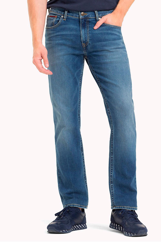 ca367de167e7d8 Calça Jeans Tommy Hilfiger Straight Fit Ryan Azul
