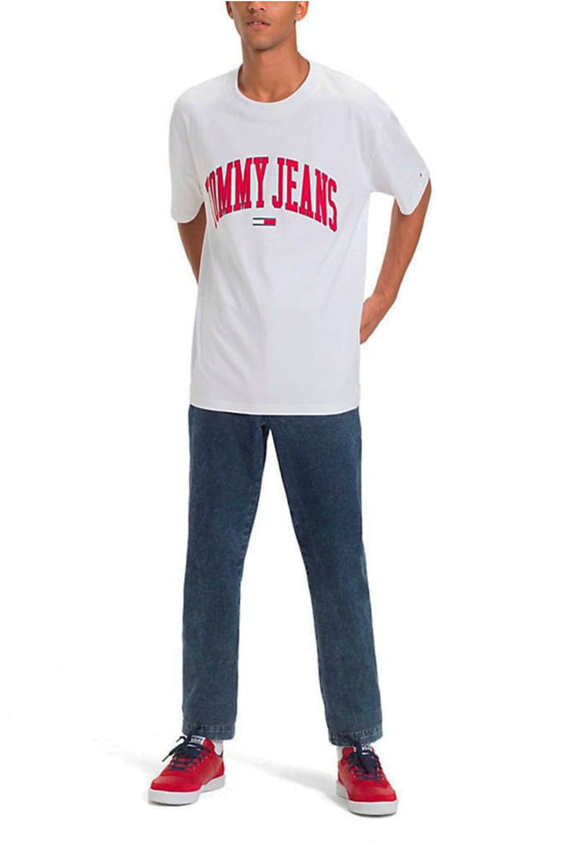 98a71d923 Camiseta Tommy Hilfiger Collegiate Branco - Carmim Modas