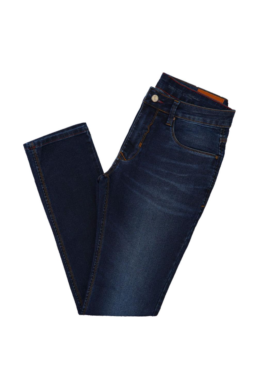 301d29152 Calça Jeans Hard Men Moletom Skinny Azul - Carmim Modas